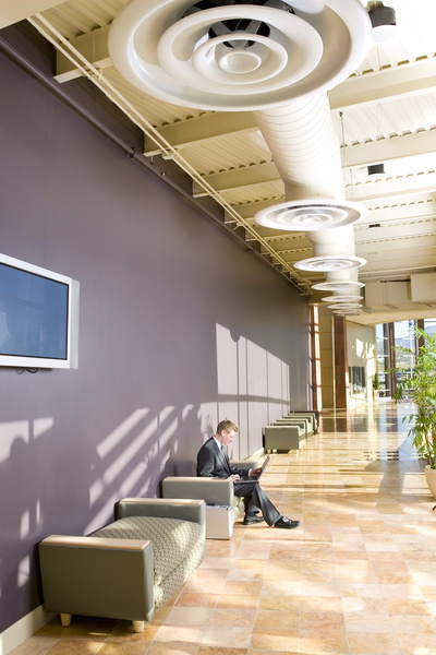 commercial-lobby-with-vents-ducts-green-building