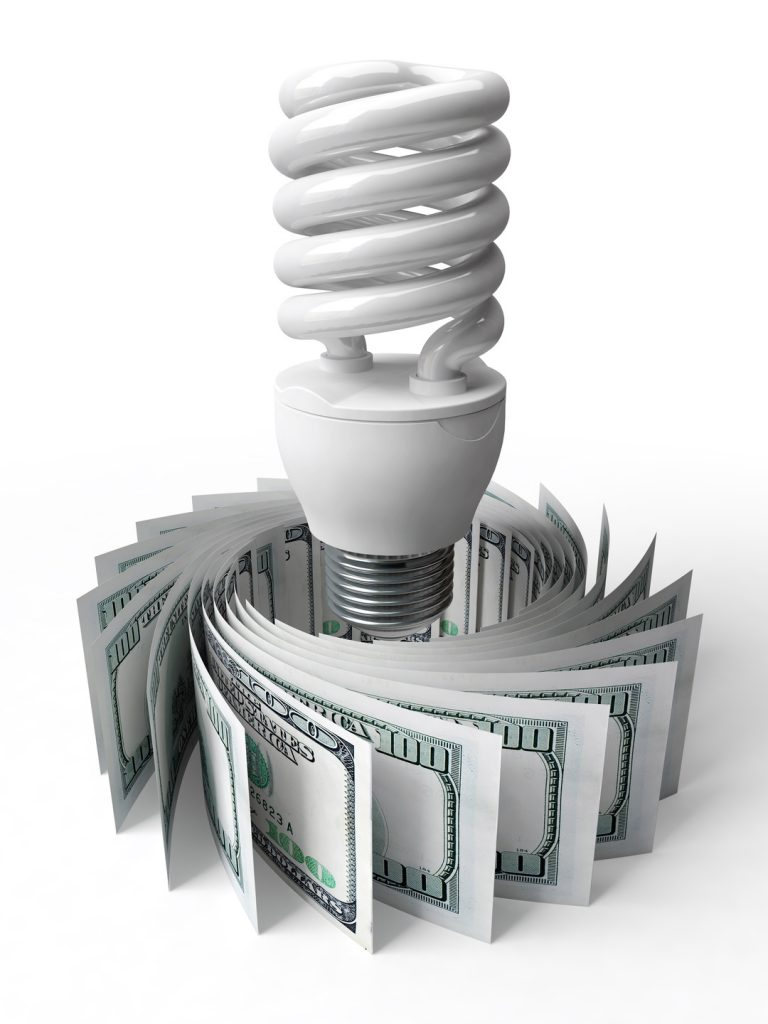 LED-light-bulb-money